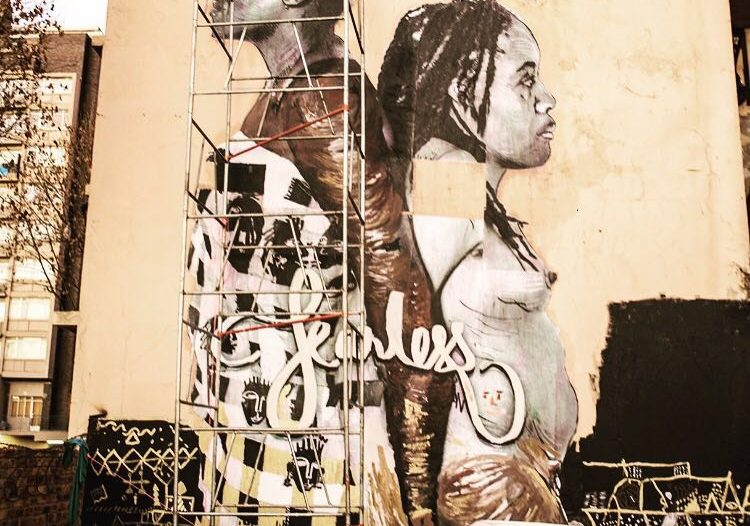 HOLAAfrica, Fearless Collective, Art, Body Autonomy, #BodyAutonomy, FRIDA, South Africa, Black Women